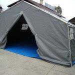 Vojaški šotori veljajo za najbolj kakovostno obliko šotorov
